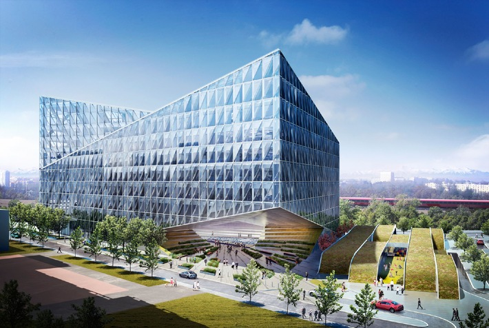 New JTI international headquarters in Geneva: Works starting in spring 2012 / Day-care center project confirmed