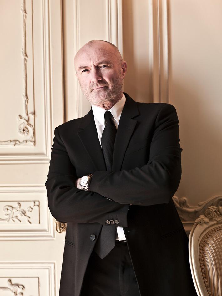 """Phil Collins im SWR3 Exklusivinterview: Wieder glücklich mit Ex-Ehefrau Orianne Cevey zusammen / """"Genesis"""" feiert am Samstag mit Phil Collins seinen 65. Geburtstag"""