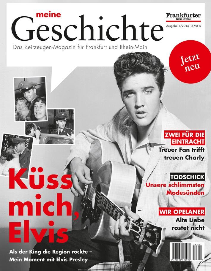 Frankfurter Neue Presse führt regionales Zeitzeugen-Magazin ein
