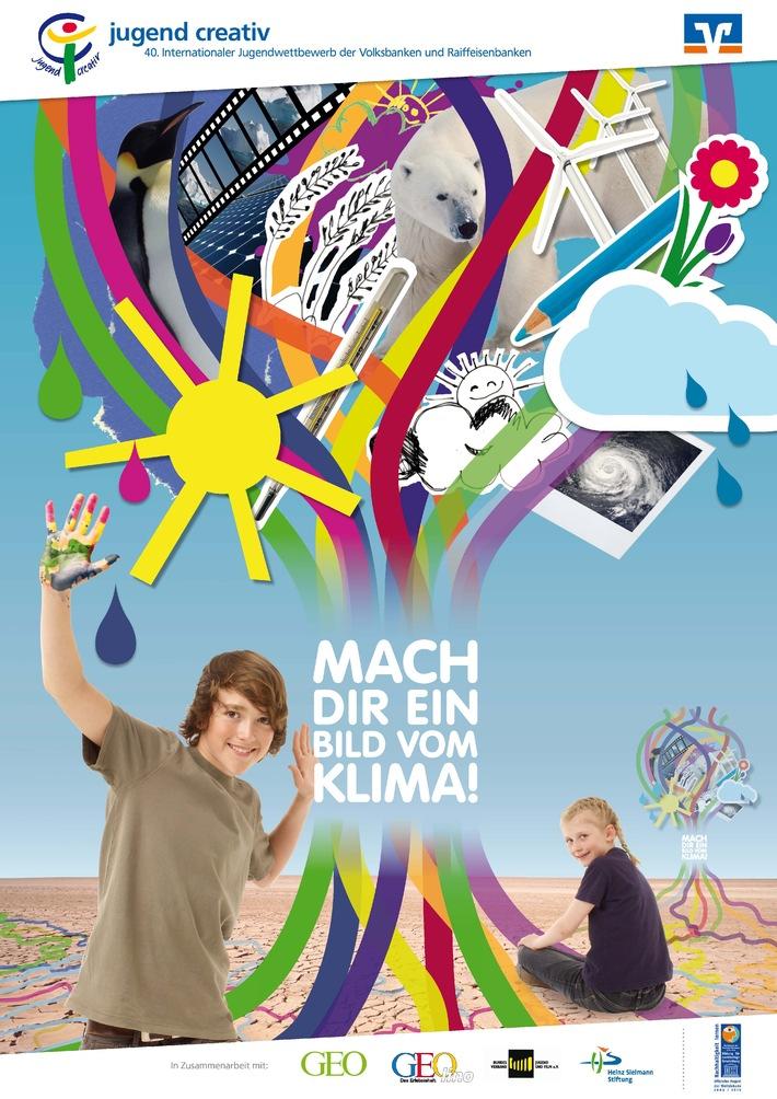"""40. Internationaler Jugendwettbewerb der Volksbanken und Raiffeisenbanken startet am 1. Oktober zum Motto """"Mach dir ein Bild vom Klima!"""" (mit Bild)"""