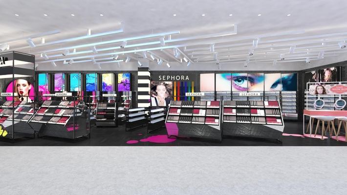 Sephora inaugure son premier magasin en Suisse, à Genève en partenariat avec Manor, premier groupe de grands magasins en Suisse