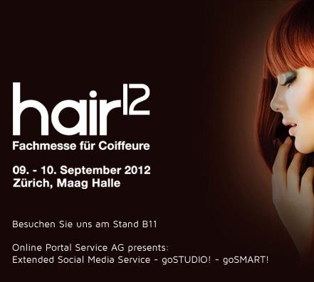 Online Portal Service AG präsentiert neue Gadgets auf der hair12