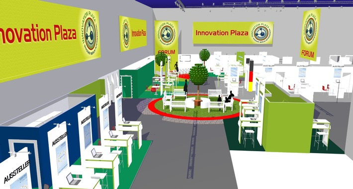 Schauplatz der Zukunftsideen: Erstmals Innovation Plaza auf WASSER BERLIN INTERNATIONAL 2017