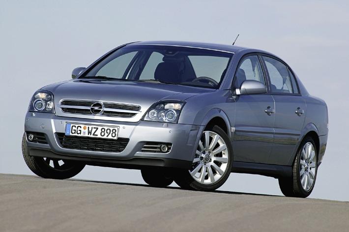 Der Beste in der Mittelklasse heisst Opel Vectra