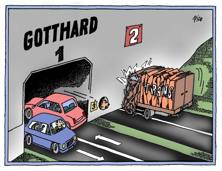 Gotthard: Die zweite Röhre schafft so oder so neue Kapazitäten