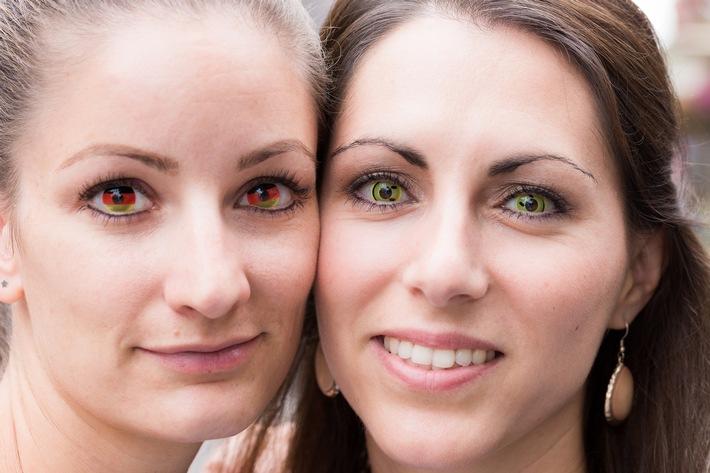Karneval: ZVA warnt vor unsachgemäßem Gebrauch von Motiv-Kontaktlinsen