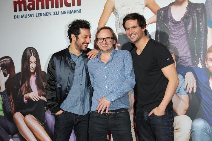 Kino ist die beste Therapie / IRRE SIND MÄNNLICH feierte große Premiere in München / Ab 24. April im Kino