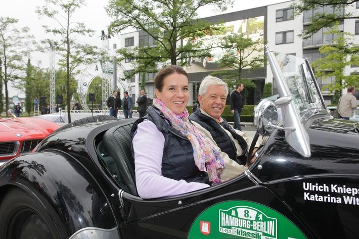 Viel Prominenz bei der 9. Hamburg-Berlin-Klassik 2016