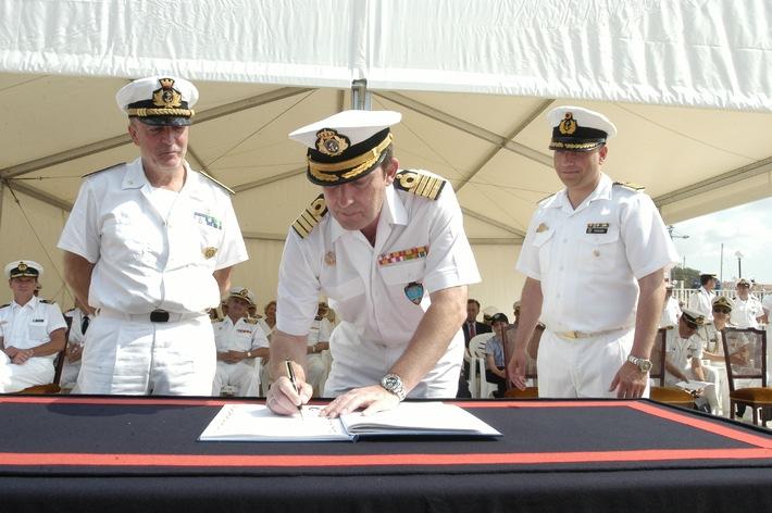 Übernahme NATO-Minenabwehrverband