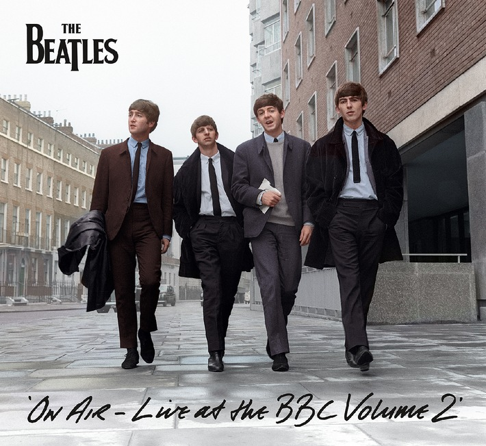 "THE BEATLES ""ON AIR - LIVE AT THE BBC VOLUME 2"" ab 8. November 2013 /  Neue Doppel-CD und Vinyl-Collection mit 40 Aufnahmen ihrer BBC-Sessions von 1963-1964"