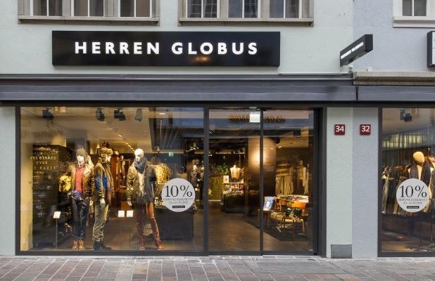 Herren Globus Winterthur an neuem Standort.  Herren Globus eröffnet am 25. Oktober 2012 die neue Filiale an der Marktgasse in Winterthur.