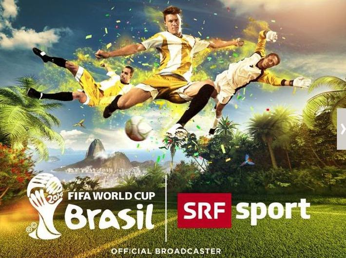 Fernsehen SRF: «FIFA Fussball-WM Brasilien 2014 bei SRF»: Sportlicher Höhepunkt - gesellschaftliches Ereignis