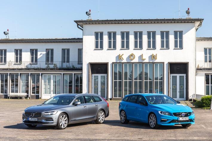 Mit neuer Doppelspitze in den Herbst: Volvo V90 und Volvo V60 Polestar bilden ein Duo der Gegensätze