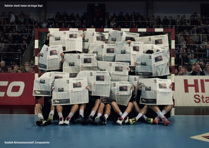 Die F.A.Z. ehrt die deutschen Handball-Helden als Kluge Köpfe