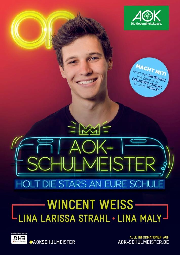 Start des AOK-Schulmeisters 2017/18