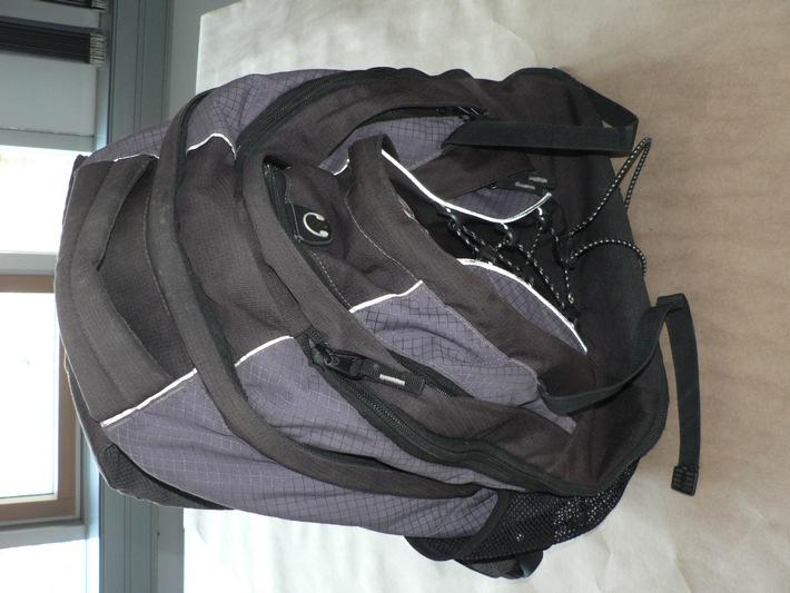 POL-F: 091204 - 1533 Frankfurt: Rucksack des vermissten Devon Hollahan gefunden; Anhang beachten