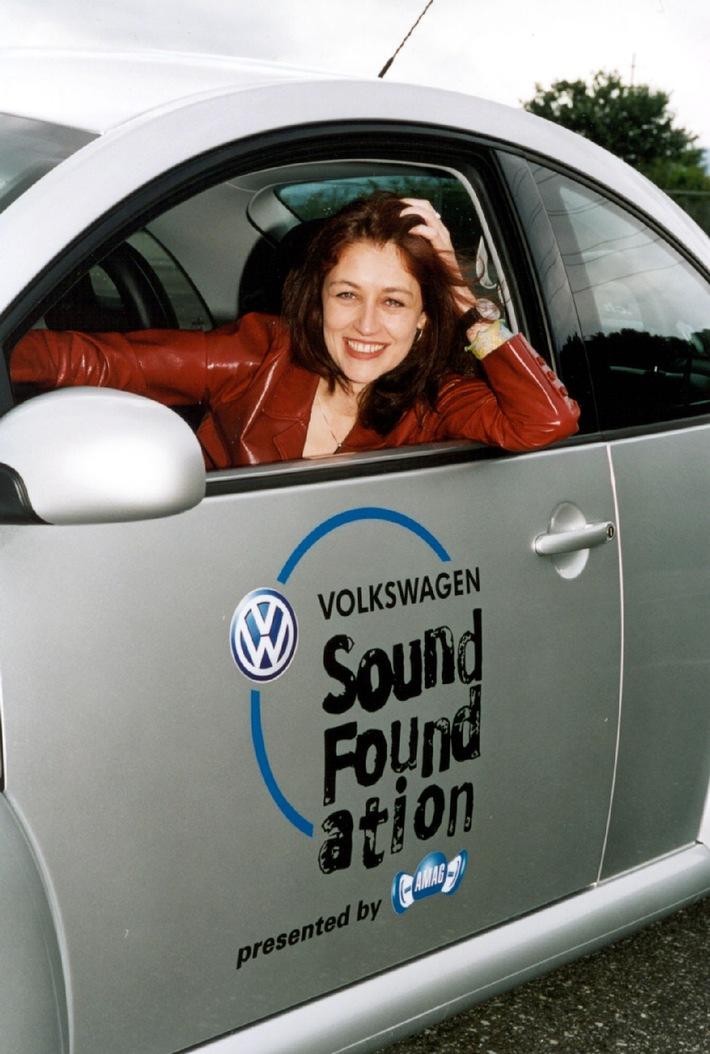 Florian Ast, Sina ou Paléo Festival Nyon - tous misent sur la Volkswagen Sound Foundation