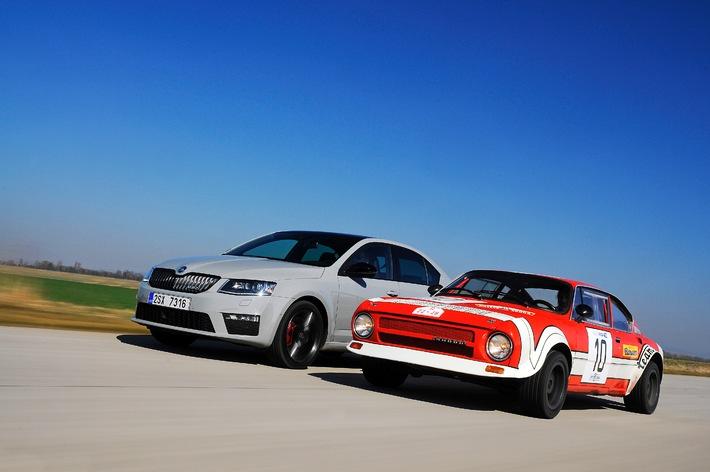 SKODA RS: 40 Jahre Geschwindigkeitskult