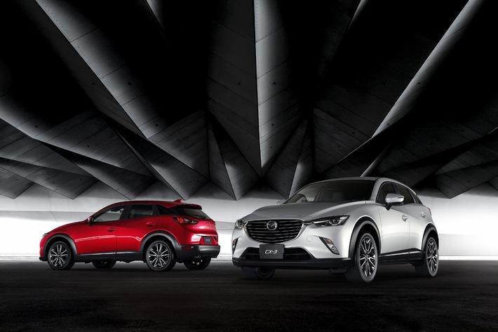 Mazda CX-3: Der neue, vielseitige Kompakt-SUV