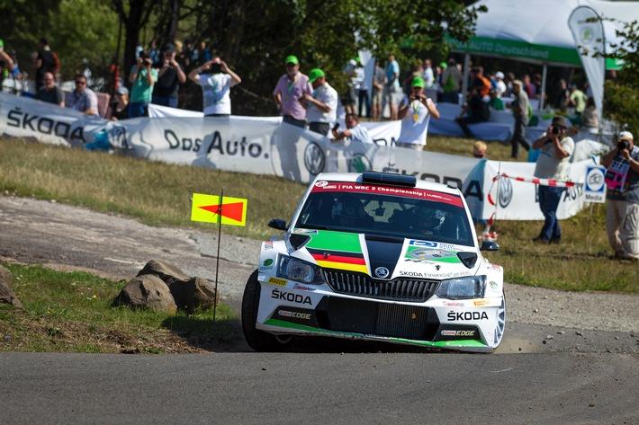 SKODA AUTO Deutschland startet 2016 in Deutschlands höchster Rallye-Liga