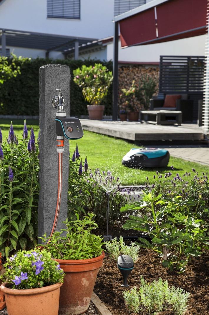 RWE und Gardena kooperieren / Gardena nutzt die neue Gerätesprache Lemonbeat von RWE