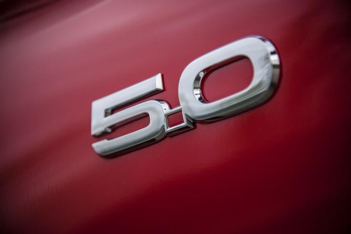 Der neue Ford Mustang auf heißer Runde in Silverstone