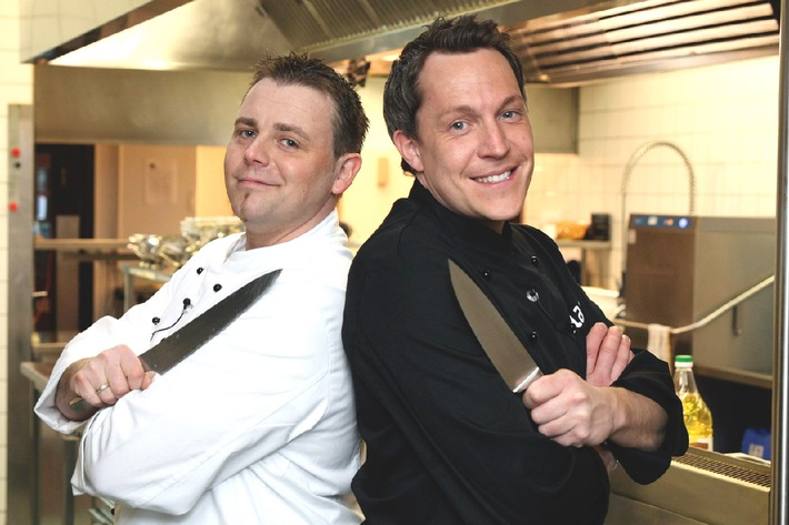 """Büffelmozzarella oder Bruschetta? Die """"Kampf der Köche""""-Test-Woche  vom 29. März bis 1. April 2010, um 19.40 Uhr bei kabel eins"""