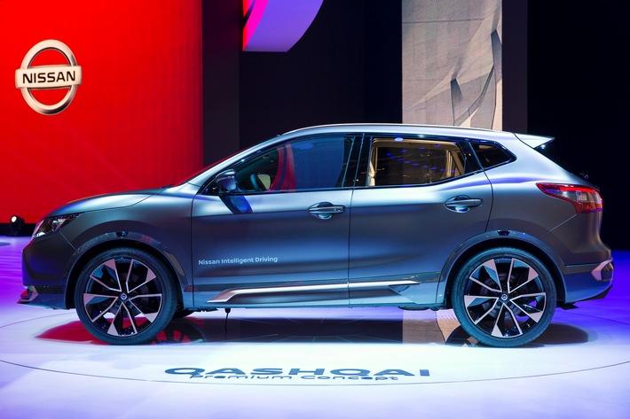 Selbstfahrender Nissan Qashqai rollt 2017 nach Europa