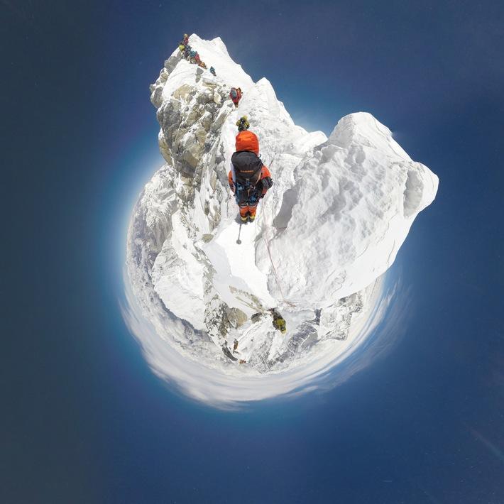 #project360 erobert den Mt. Everest / Erste Dokumentation der Südroute mit einer 360° Kamera für Mammut's #project360