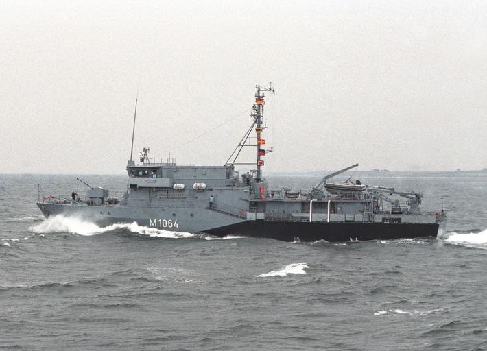 Deutsche Marine - Pressemeldung / Pressetermin: Aufbruch ins Mittelmeer