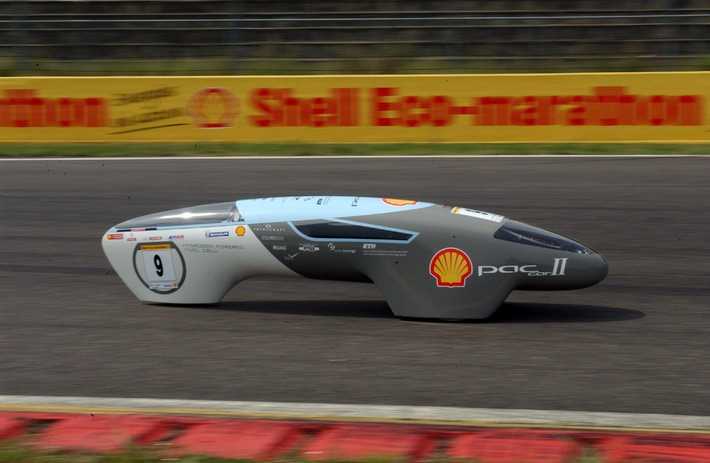 Von Zürich nach Riga und retour - mit nur einem Liter Benzin: Jetzt zum Shell Eco-marathon anmelden