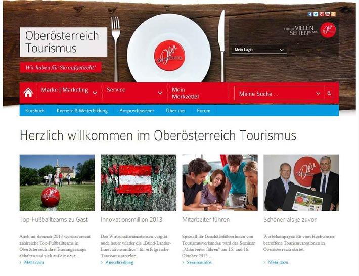Webseite bündelt Wissen und Service für Oberösterreichs Tourismusbranche