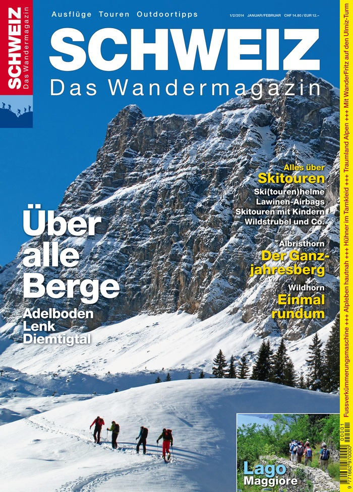 Wandermagazin SCHWEIZ: Über alle Berge / Wanderparadies Adelboden-Lenk-Diemtigtal