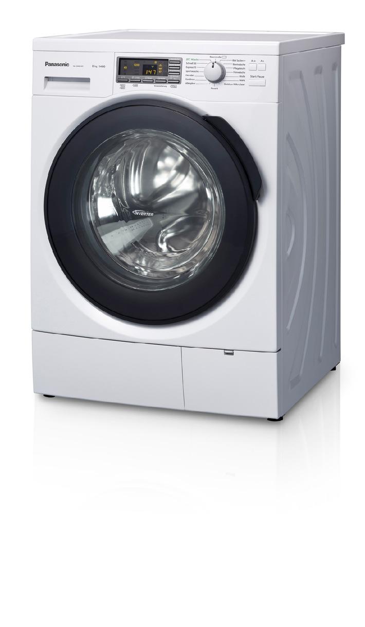 Panasonic Waschmaschine NA-148VS4 mit Steam Action / Weniger Bügeln - mehr Zeit für Freunde und Familie