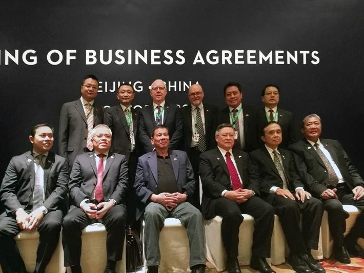 Biomasse-Projektportfolio von ThomasLloyd profitiert von einer neuen Ära in den chinesisch-philippinischen Beziehungen durch den Staatsbesuch von Präsident Duterte