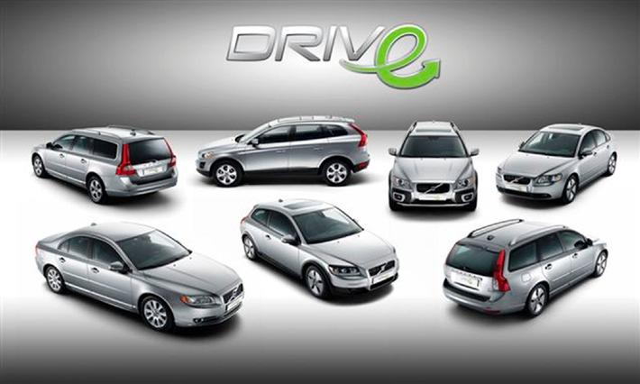 """Sept nouveaux modèles Volvo """"DRIVe"""" affichant les meilleures valeurs d'émissions de CO2 dans leur segment"""