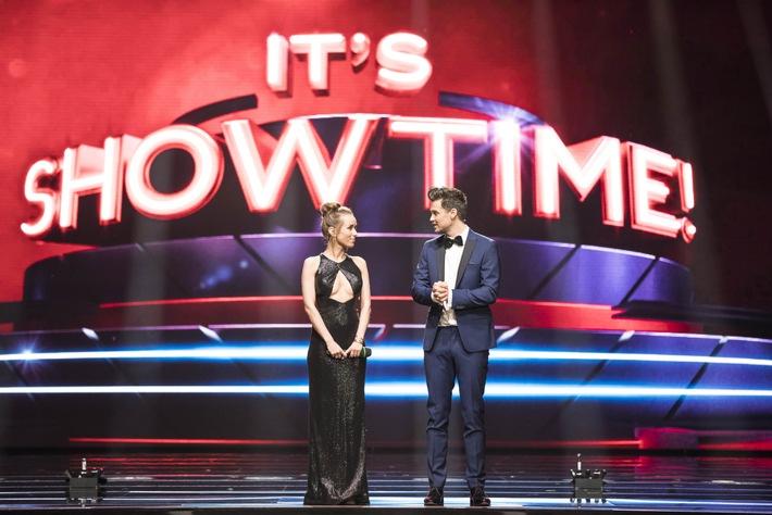 """""""Wir haben echte Weltstars und die coolste Jury, die man sich vorstellen kann!"""" Annemarie und Wayne Carpendale über """"It's Showtime! Das Battle der Besten"""""""