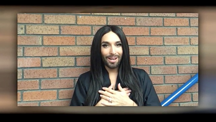 "James-Bond-Feeling: Conchita Wurst bei ""The Voice Kids"""