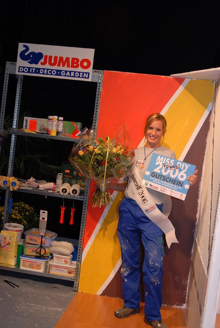 Die neue Miss Do-it-yourself 2006 kommt aus Erlen (TG) und heisst Mirjam Rüegg