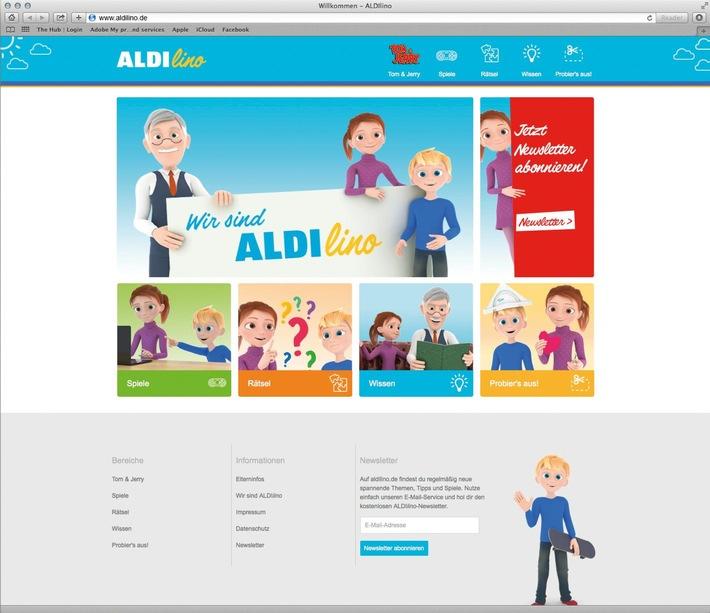 ALDI SÜD startet neue Kindermarke ALDIlino