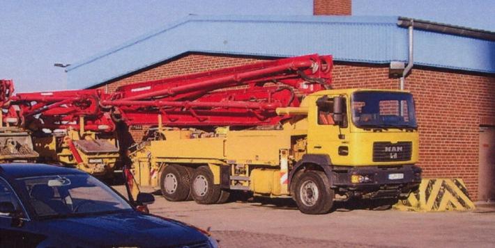 POL-HI: LKW mit Betonpumpe gestohlen