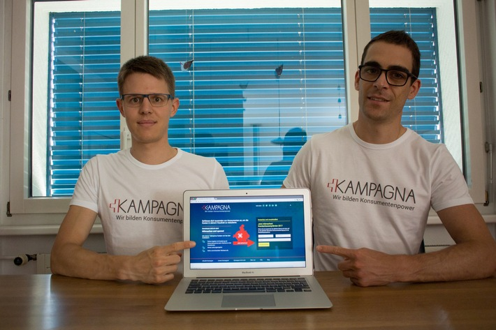 Neue Konsumenten-Plattform verhilft zu besseren Lebenskosten in der Schweiz: Verhandeln statt vergleichen auf Kampagna.ch