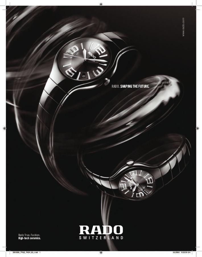Rado: Une nouvelle campagne produit non conventionnelle pour la marque de montres design de luxe
