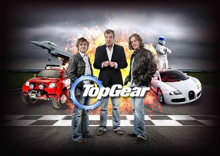 """kabel eins gibt Vollgas - mit der Kult-Auto-Show """"Top Gear"""" und der dreckigsten Event-Doku des Jahres: Der PS-starke Samstag am 17. Juli 2010"""