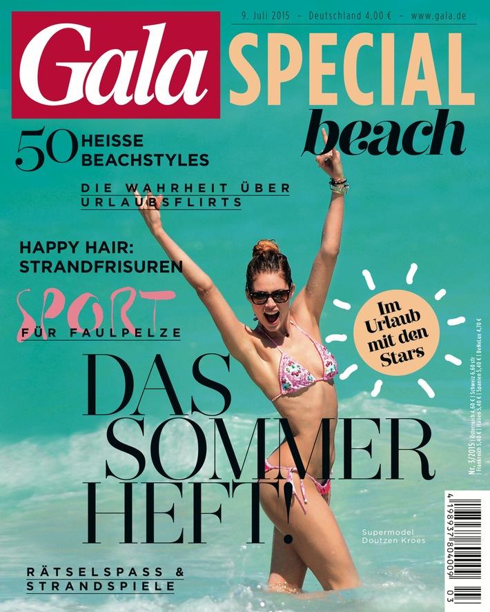 GALA-SPECIAL BEACH macht Lust auf Sommer, Sonne und Meer