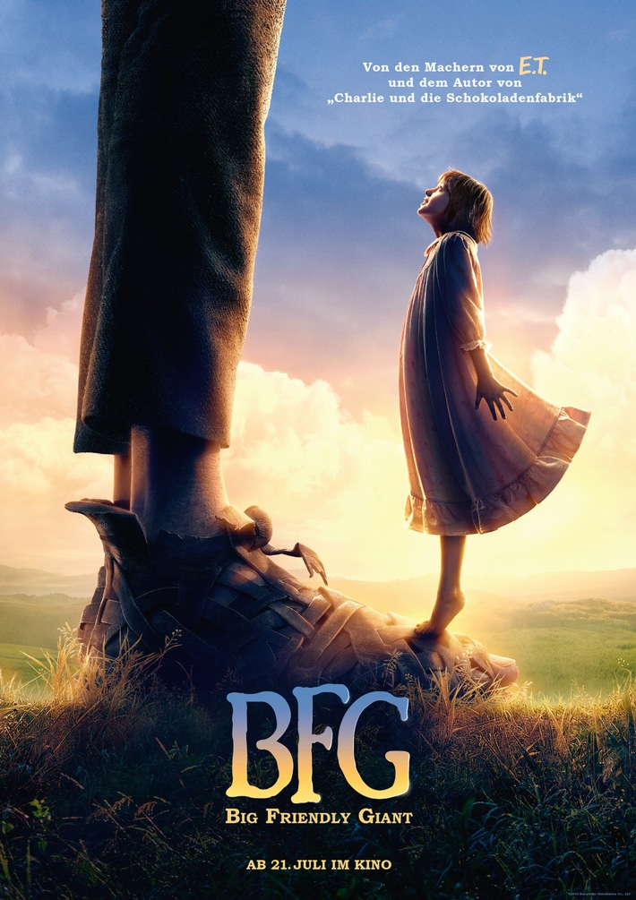 BFG - BIG FRIENDLY GIANT: Trailer und erste Fotos online