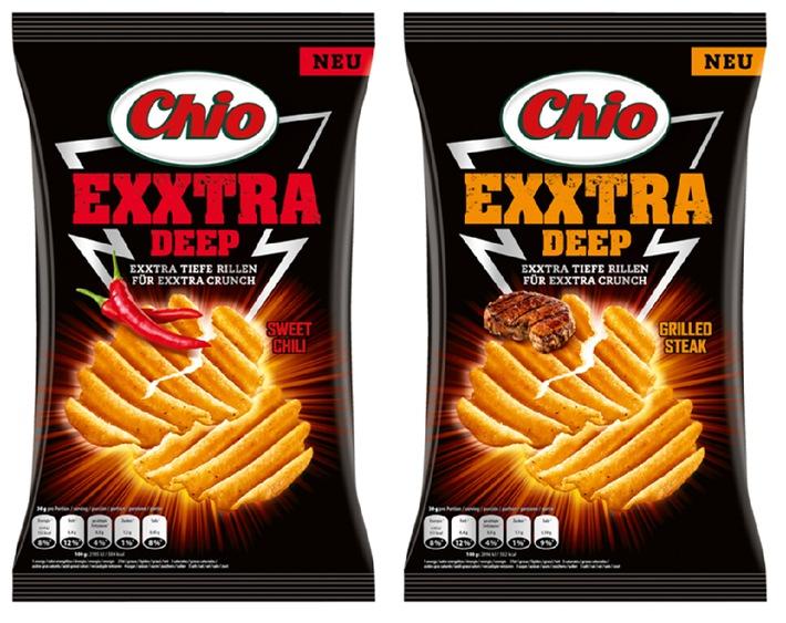 Die sind der absolute Kracher: Chio Exxtra Deep