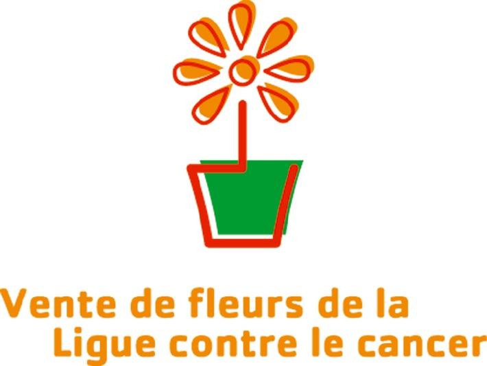 Action en faveur de la Ligue contre le cancer: dites-le avec des fleurs!