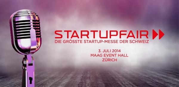 Startupfair 2014: Zweite Durchführung der preisgekrönten Schweizer Messe für die Startup Branche