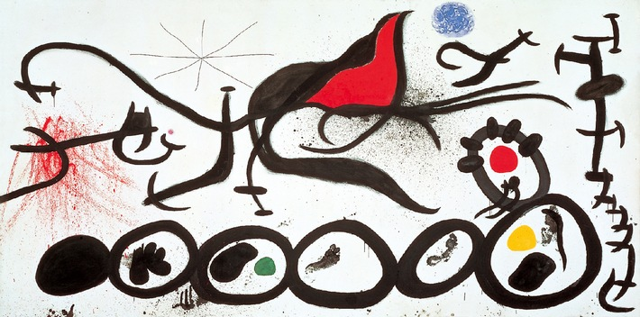 Braque, Chagall und Miró zu Gast in Münster / Graphikmuseum präsentiert Gipfeltreffen der Modernen Kunst